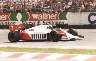 1984 Alain Prost Mclaren MP4-2 TAG Porsche Turbo (2)