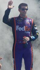 Denny Hamlin at Daytona