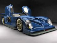 Patriot Trident GTR race car blue