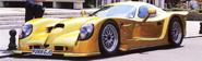 Patriot Trident GTR road car yellow