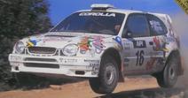Gyoza Caminoa WRC Asia-Pacific Rally 98