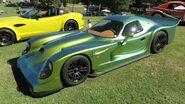 Patriot Trident GTR road car green