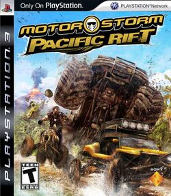 Motorstorm Pacific Rift Cover