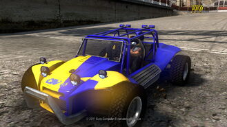 Dice buggy
