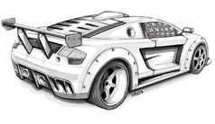 Msa-sketch-supercar