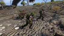 Dusklite troops advancing