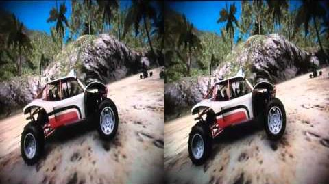 Motorstorm Pacific Rift gameplay in REAL 3D