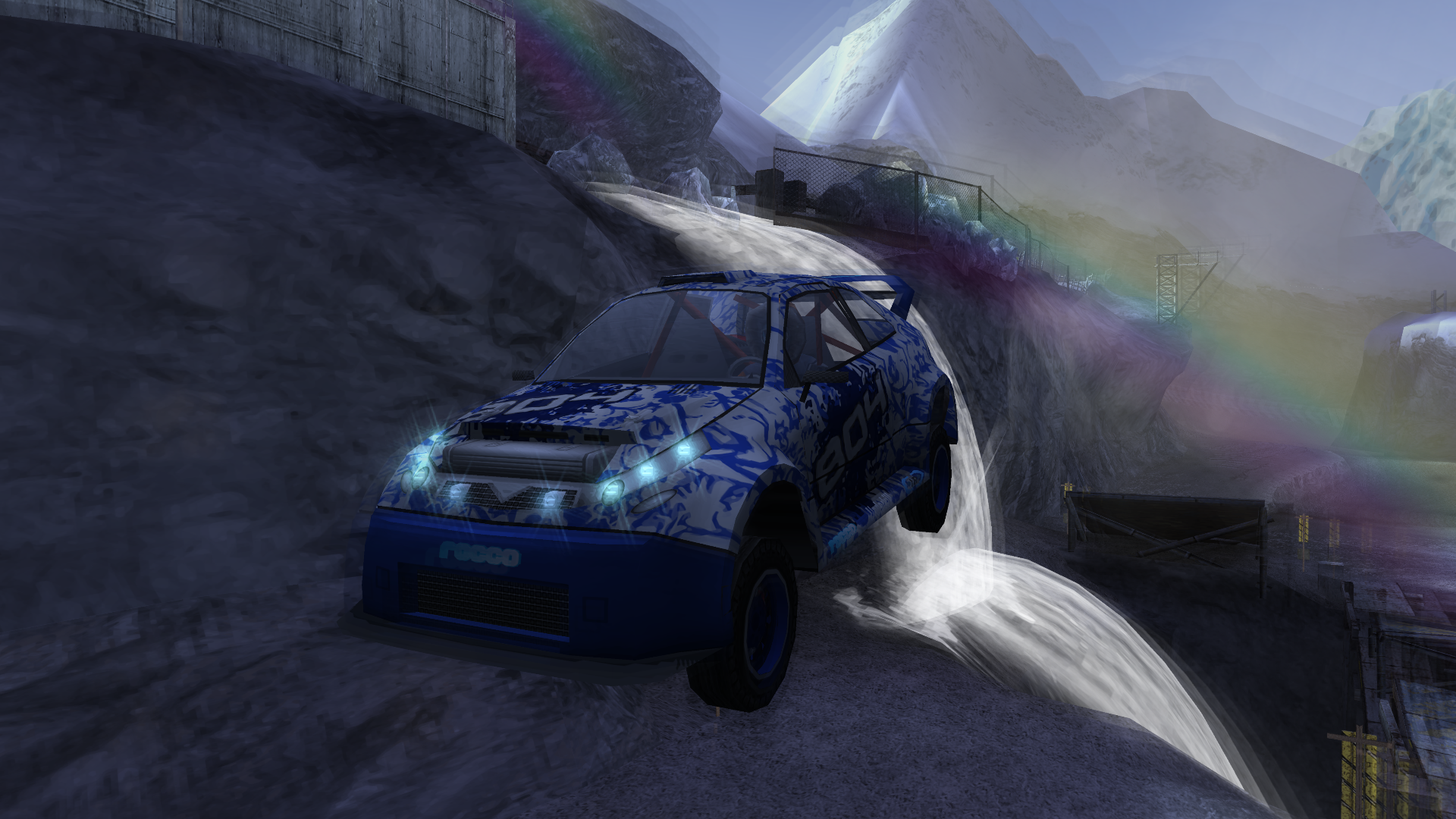 0e3aecb9abf The Mirage Rapide is a Rally Car available in the Special Edition of  MotorStorm  Arctic Edge and as a free DLC from Playstation Store.