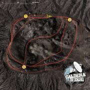 Calderaridge track