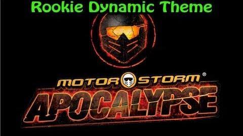 MotorStorm Apocalypse Rookie Dynamic Theme