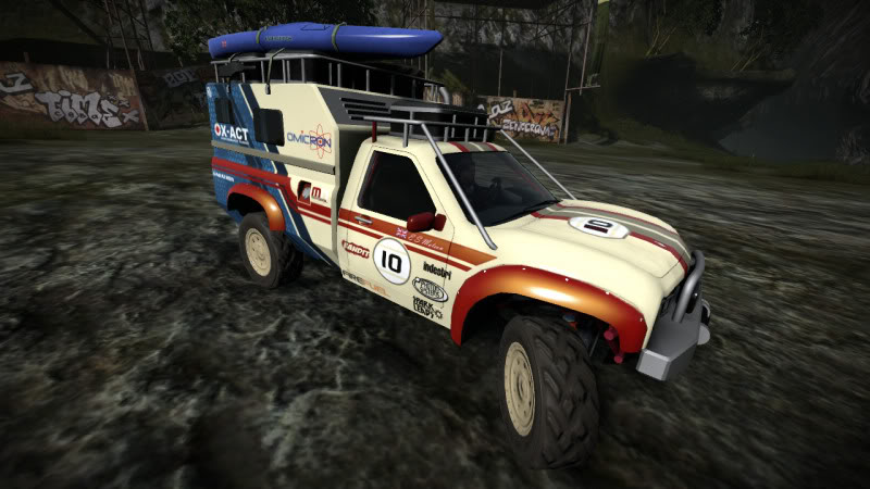 0a609b05b26 The Mojave Globetrotter is a pickup truck-based Mud Plugger appearing in  MotorStorm  Pacific Rift. Fitting for its name