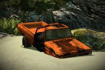 MSPR wrecked truck