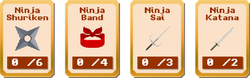 Legend Heroes - Stage 3 Items