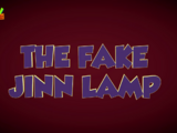 The Fake Jinn Lamp