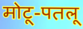Motu Patlu's Name in Hindi