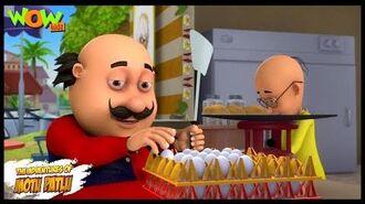 Motu Patlu New Episode - Cartoons - Kids TV Shows - Motu Patlu Omelette Pav Shop - Wow Kidz