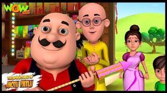 Motu Patlu Cartoons In Hindi - Animated Series - Patakhey ki dukan - Wow Kidz