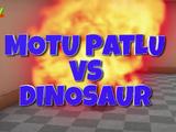 Motu Patlu VS Dinosaur