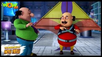 Motu Patlu New Episode - Cartoons - Kids TV Shows - John The Kite Man - Wow Kidz
