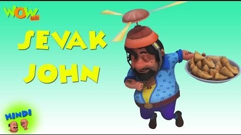 Sevak John - Motu Patlu in Hindi WITH ENGLISH, SPANISH & FRENCH SUBTITLES