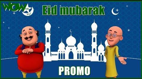 Eid Mubarak Motu Patlu - Promo Urdu Cartoons for Kids Wow Kidz Urdu