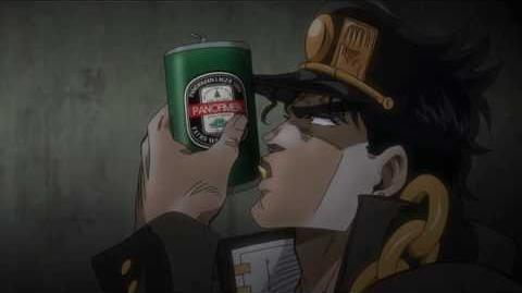 Jotaro shoots himself