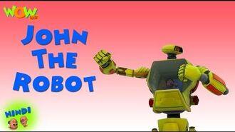 John The Robot - Motu Patlu in Hindi - Popular Cartoon for Kids - As seen on Nickelodeon