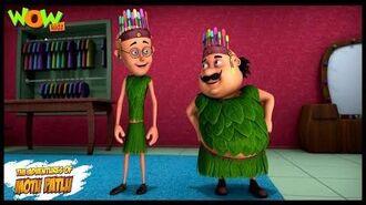Motu Patlu New Episode - Cartoons - Kids TV Shows - Motu Patlu Ka Fashion Show - Wow Kidz