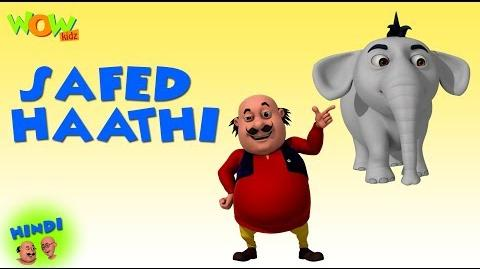 Safed Haathi - Motu Patlu in Hindi - 3D Animation Cartoon - As on Nickelodeon
