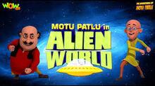 Motu patlu alien world