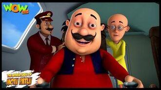 Motu Patlu New Episode - Cartoons - Kids TV Shows - Motu The Pilot - Wow Kidz