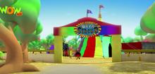 Maya circus entrance