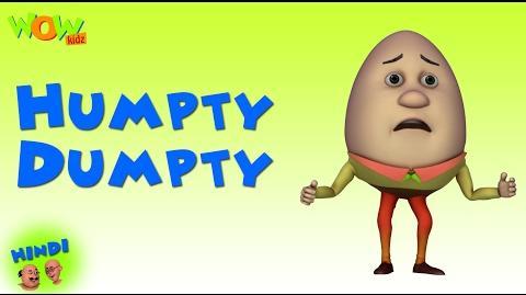 Humpty Dumpty - Motu Patlu in Hindi WITH ENGLISH, SPANISH & FRENCH SUBTITLES