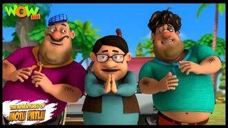 Motu Patlu New Episode - Cartoons - Kids TV Shows - Minister John - Wow Kidz