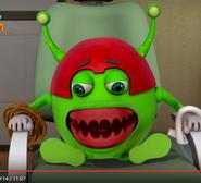 Denture alien teeth