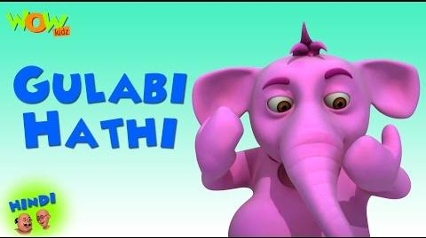 Gulabi Hathi - Motu Patlu in Hindi WITH ENGLISH, SPANISH & FRENCH SUBTITLES