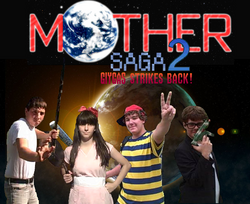 Mother Saga 2 Logo