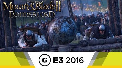Mount and Blade 2 Bannerlord - Official E3 2016 Siege Gameplay Trailer