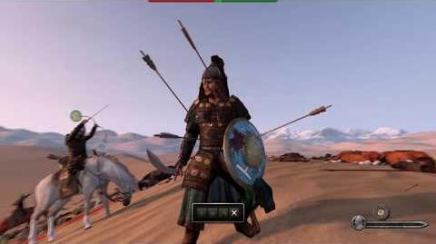 Mount & Blade II Bannerlord E3 2017 Horse Archer Sergeant Gameplay