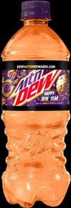Happy Dew Year 2019 bottle design