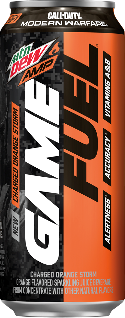 Amp Game Fuel Charged Orange Storm Mountain Dew Wiki