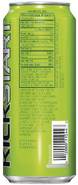 Mountain Dew Kickstart Original DEW (Back)