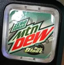 Mountain Dew Baja Blast Zero Sugar at the new Taco Bell