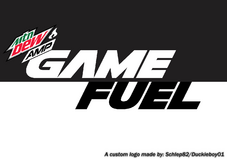 2019 Custom Amp Game Fuel Charged White Logo