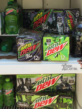 Mountain Dew Walking Dead limited edition pack in bottles and cans