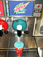Mountain Dew Blue Shock Freeze
