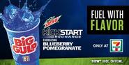 Mountain Dew Kickstart Blueberry Pomegranate at 7-Eleven