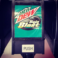 Mountain Dew Baja Blast new logo