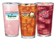 Taco Bell drinks in March 2015