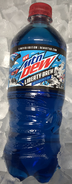 Mountain Dew Liberty Brew in a pile of ice